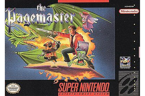 The Pagemaster *Game Only* (Super Nintendo Entertainment ...