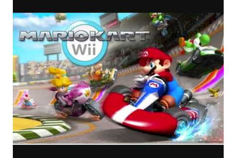 Nintendo Wii SUper Mario Kart Racing Game - YouTube
