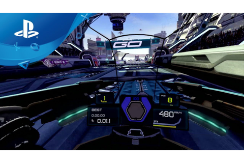 WipEout Omega Collection VR - Announce Trailer [PS VR ...