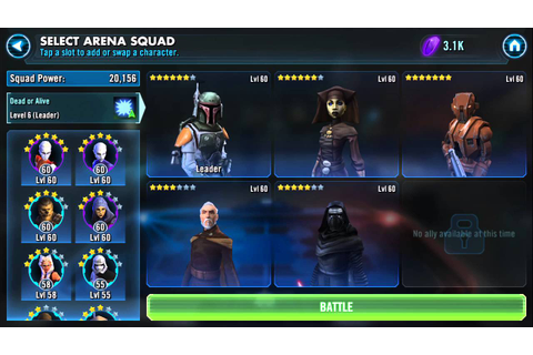 Best Characters and Teams – Star Wars: Galaxy of Heroes