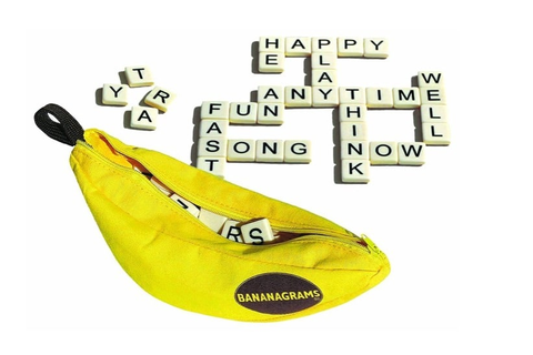 Bananagrams Travel Game - Epicure & Culture : Epicure ...