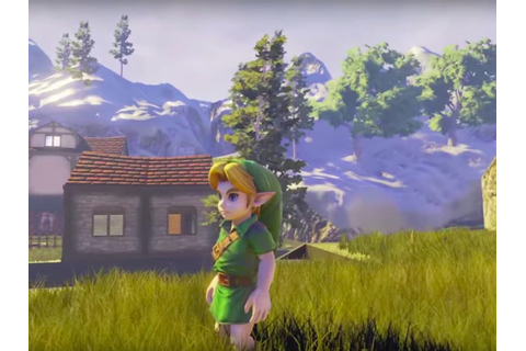 This gorgeous re-creation of 'The Legend of Zelda: Ocarina ...