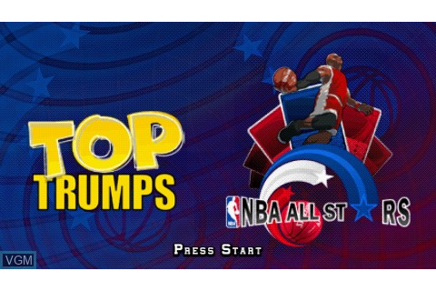 Top Trumps - NBA All Stars for Sony PSP - The Video Games ...