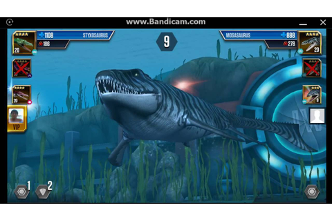 Jurassic World: The Game - Aquatic Player Duel Battle 58 ...