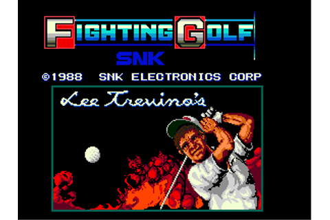 Lee Trevino's Fighting Golf - Videogame by SNK