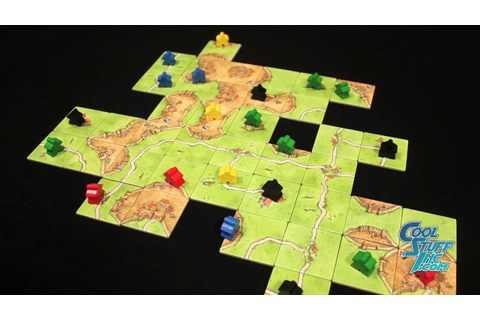 Carcassonne - Board Game Overview - YouTube