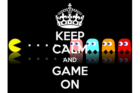 KEEP CALM AND GAME ON - KEEP CALM AND CARRY ON Image Generator