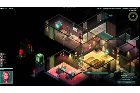 Invisible Inc. Gameplay: Late-game overpowered-ness - YouTube
