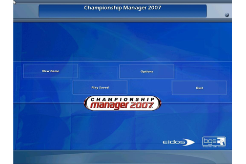 Championship Manager 2007 Download (2006 Sports Game)