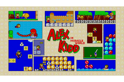 Alex Kidd in Miracle World Longplay Playstation 3 - YouTube