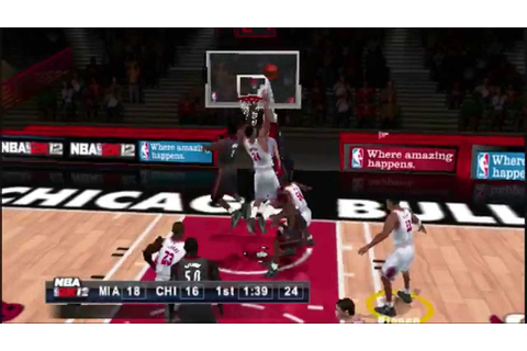 PSP NBA 2K12 Gameplay - YouTube