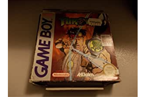 Amazon.com: Turok: Battle of the Bionosaurs (Game Boy ...
