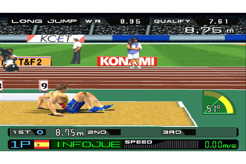 ESPN International Track & Field Download Game | GameFabrique