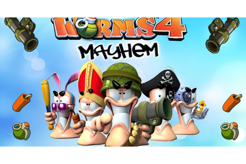 Worms 4 Mayhem Full Version PC Game Free Download | Free ...