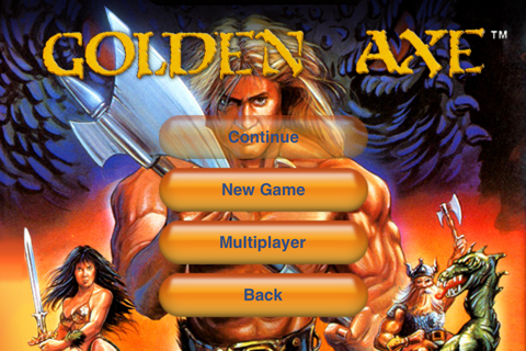 Golden axe & 16 bit games on the touch screen | TheBigNerdShow