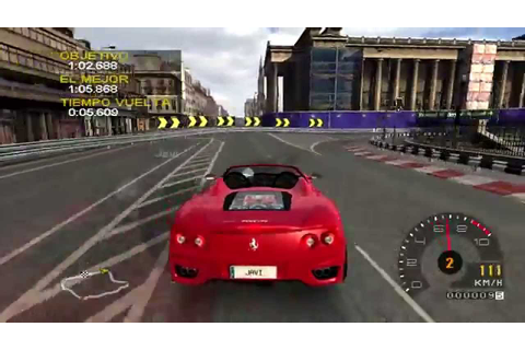 Project gotham racing 2 gameplay - YouTube