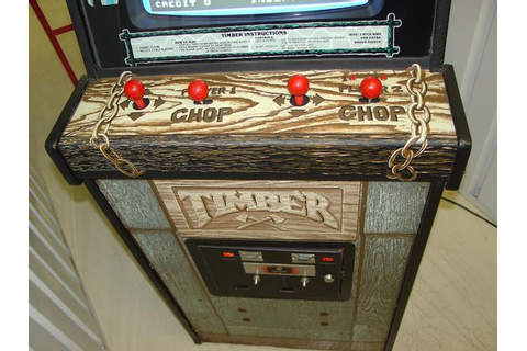 Timber - Videogame by Bally Midway