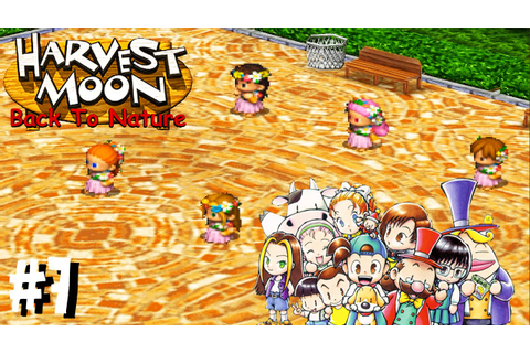 Harvest Moon Back To Nature - Festival da deusa da ...