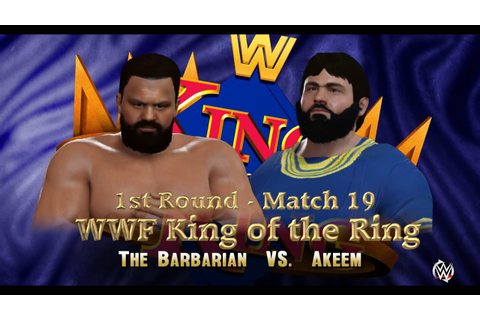 WWF KING OF THE RING: 1st Round | Match 19 | The Barbarian ...