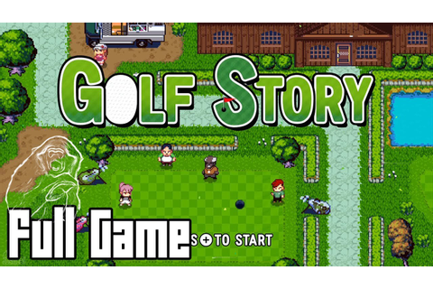 Golf Story (Full Game, No Commentary) - YouTube