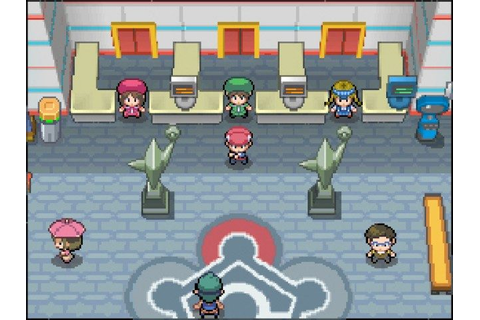 Pokemon Platinum Version no trade evolutions rom Patch ...