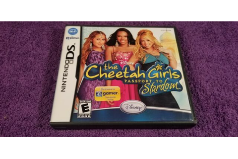 The Cheetah Girls: Passport to Stardom (Nintendo DS, 2008 ...