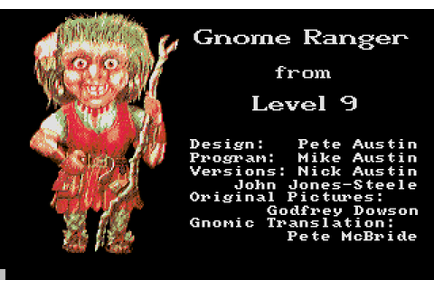 Gnome Ranger (1987) by Level 9 Computing Atari ST game