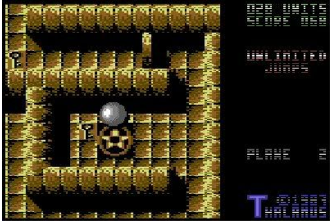 Quedex (Commodore 64) — They Were Our Gods