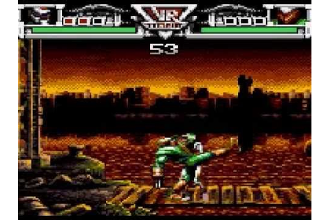 VR Troopers Game Sample - Game Gear - YouTube
