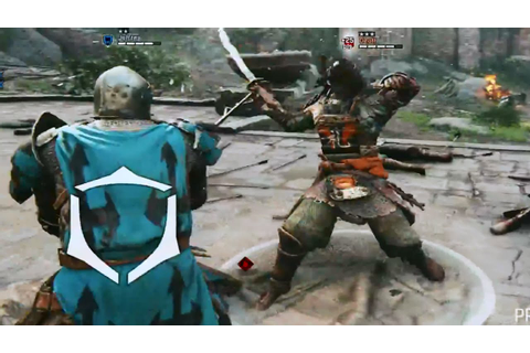 For Honor Multiplayer Gameplay Walkthrough E3 2015 Game ...