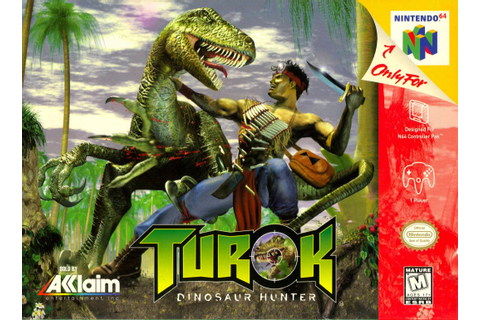 Turok Dinosaur Hunter Nintendo 64 Game