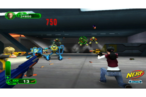 NERF N-Strike Elite (Wii) | Classic Game Room Wiki ...