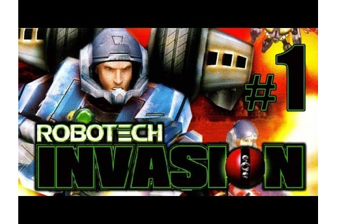 Robotech Invasion gameplay walkthrough Part 1 [PS2, XBOX ...