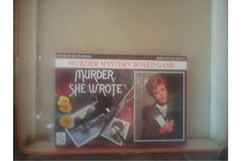 Murder She Wrote Murder Mystery Board Game: Amazon.co.uk ...
