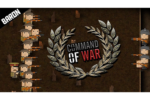 This Game is EPIC, WW1 TRENCH RTS - Command of War ...
