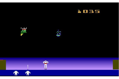 SPACE CAVERN (1982, Atari 2600)