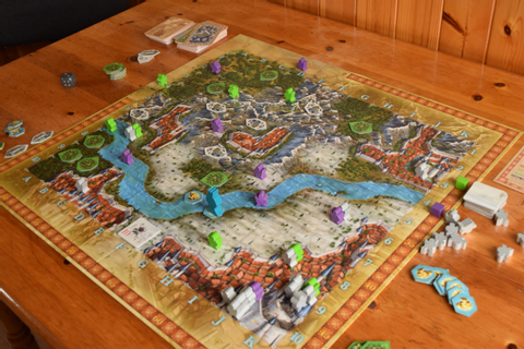 Adventure Land Board Game Review – I'm Going On An ...