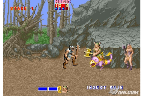 Golden Axe Screenshots, Pictures, Wallpapers - Arcade - IGN