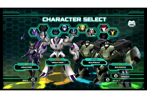 Transformers Prime The Game Wii U Multiplayer part 37 ...