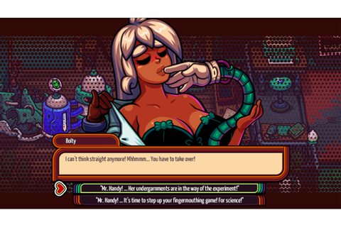 A Sexy Cyberpunk Dating Sim About (And By) Trans Folk