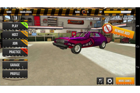 Demolition Derby Multiplayer ANDROID Gameplay #2 - YouTube