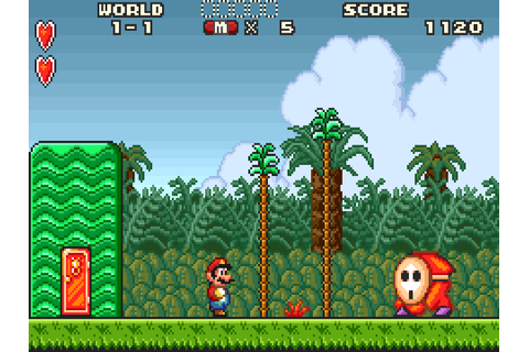 Super Mario Advance series as they should be (SNES colour ...