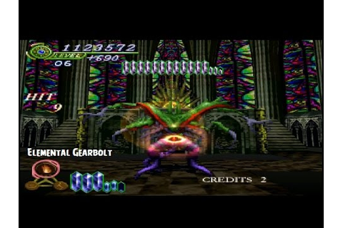 Elemental Gearbolt Playthrough PS1 - This Game Is ...