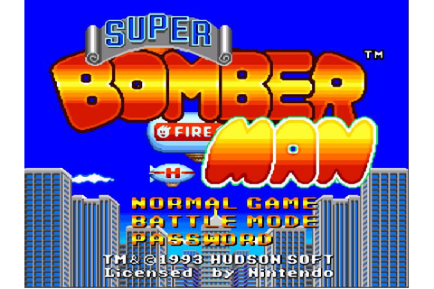 Nostalgico Games: Super Bomberman SNES
