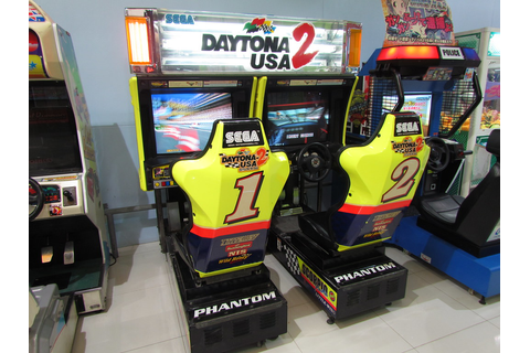 Daytona USA 2 twin type cabinet | I miss this game because ...