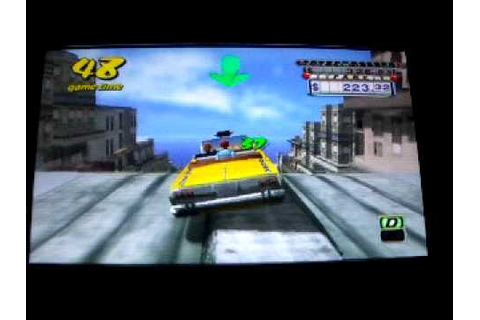 Crazy Taxi Fare Wars Psp GamePlay - YouTube
