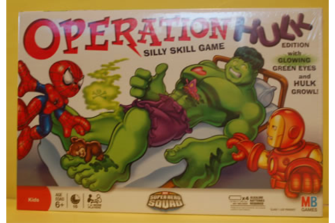 The Incredible Hulk: Operation Hulk Game