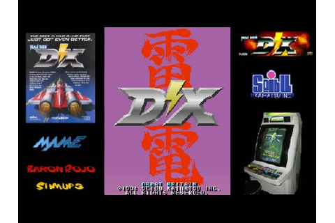 Raiden DX (UK) - Arcade - 1 Loop Clear - (Mision Charlie ...