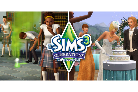 Sar's Production: The SIMS 3 Generations Expansion Pack PC ...