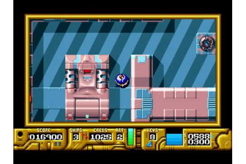 DOS Game: Galactic Warrior Rats - YouTube